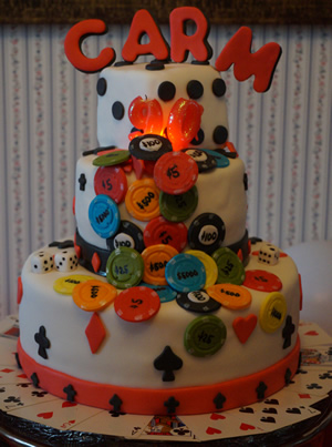 Games Cake by Cubby Cakes