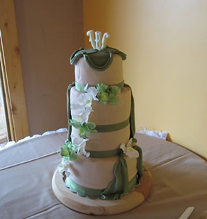 Wedding Cake by Cubby Cakes
